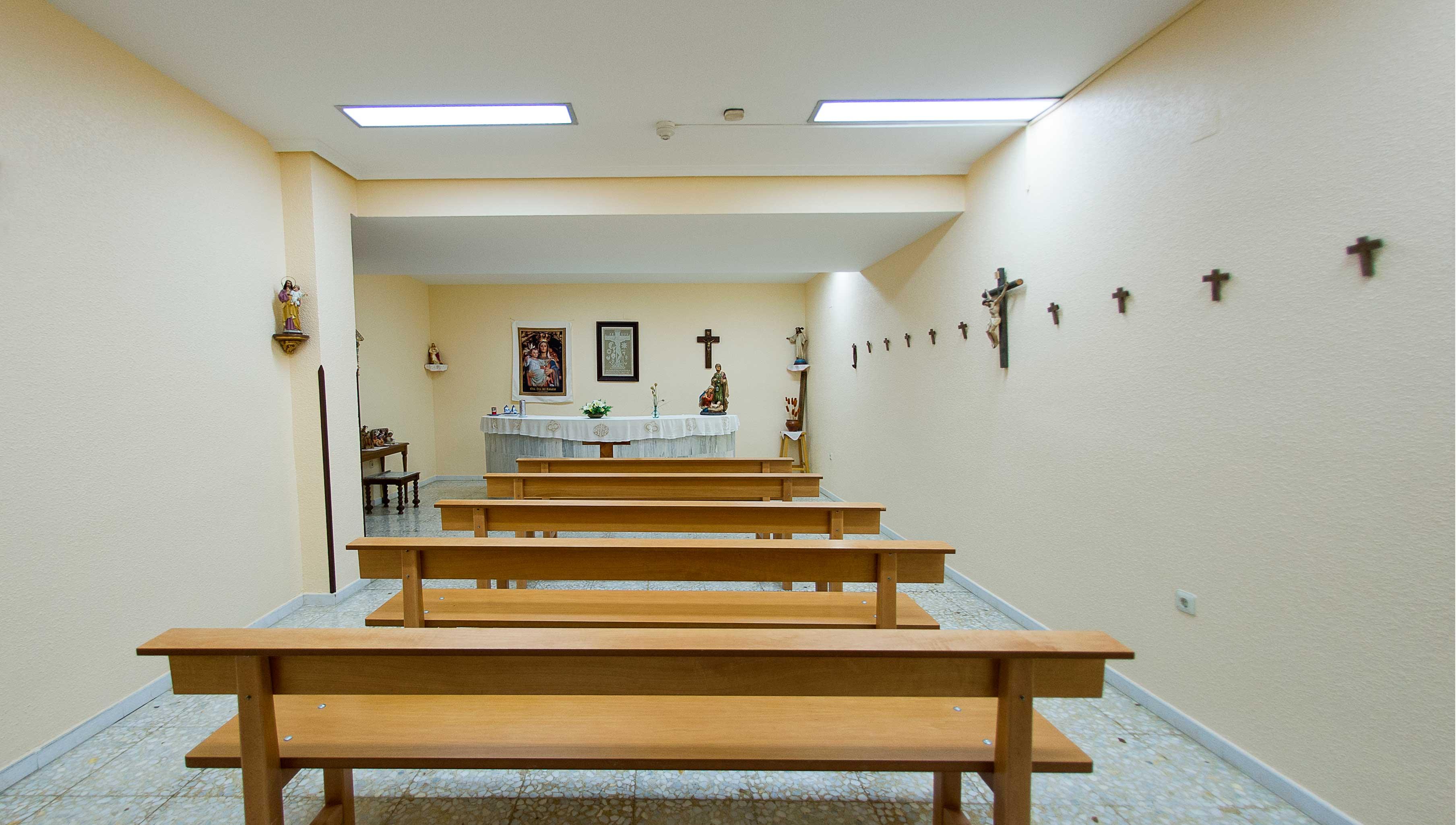 capilla de la residencia zarzuela en la comunidad de Castilla-La Mancha