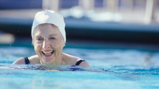 La natación en los más mayores