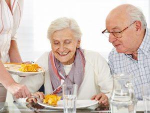 menú para personas mayores
