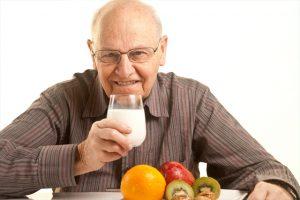 menú para personas mayores leche