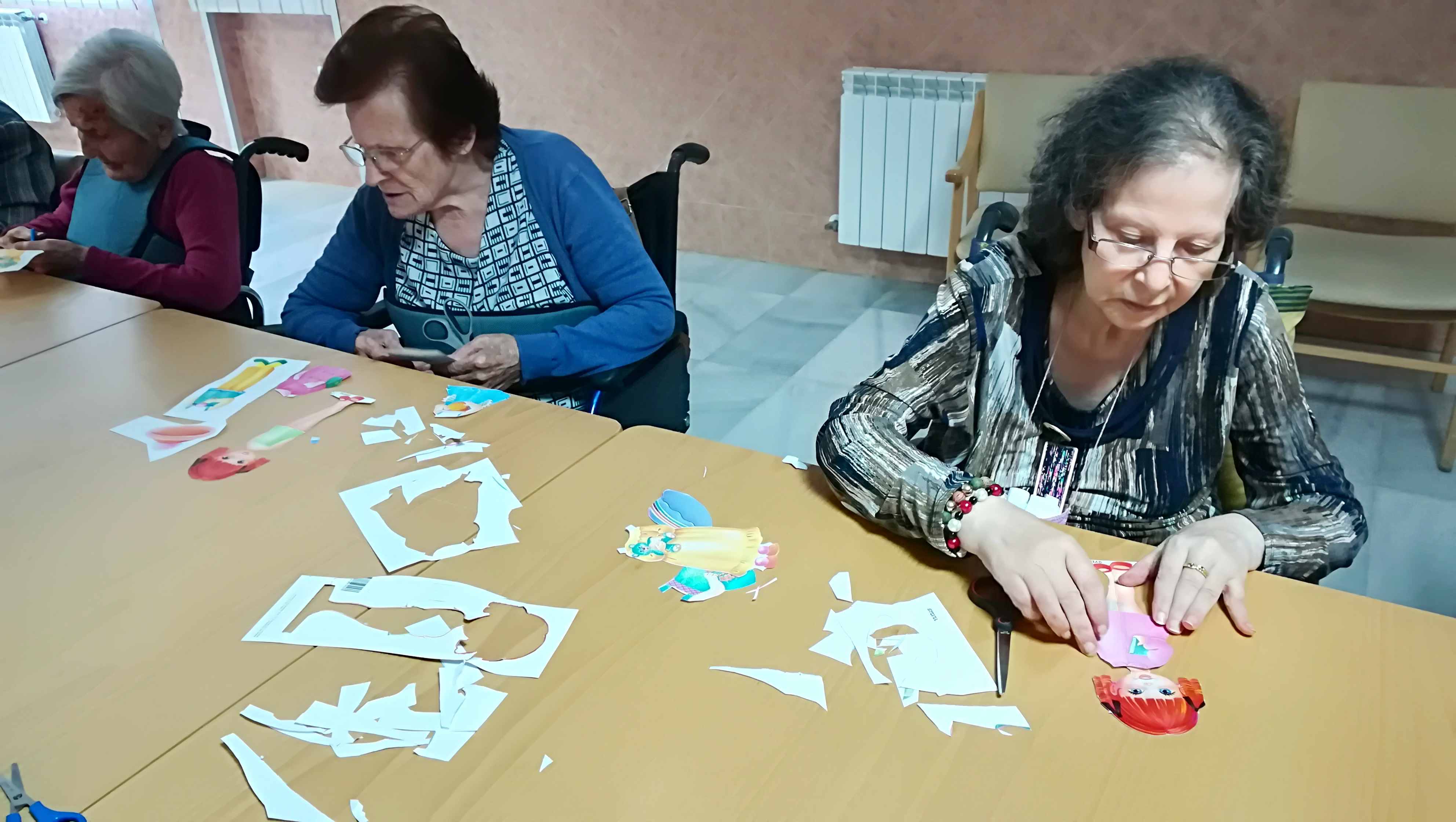 manualidades para ancianos