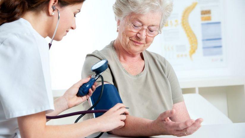 midiendo la hipertensión arterial