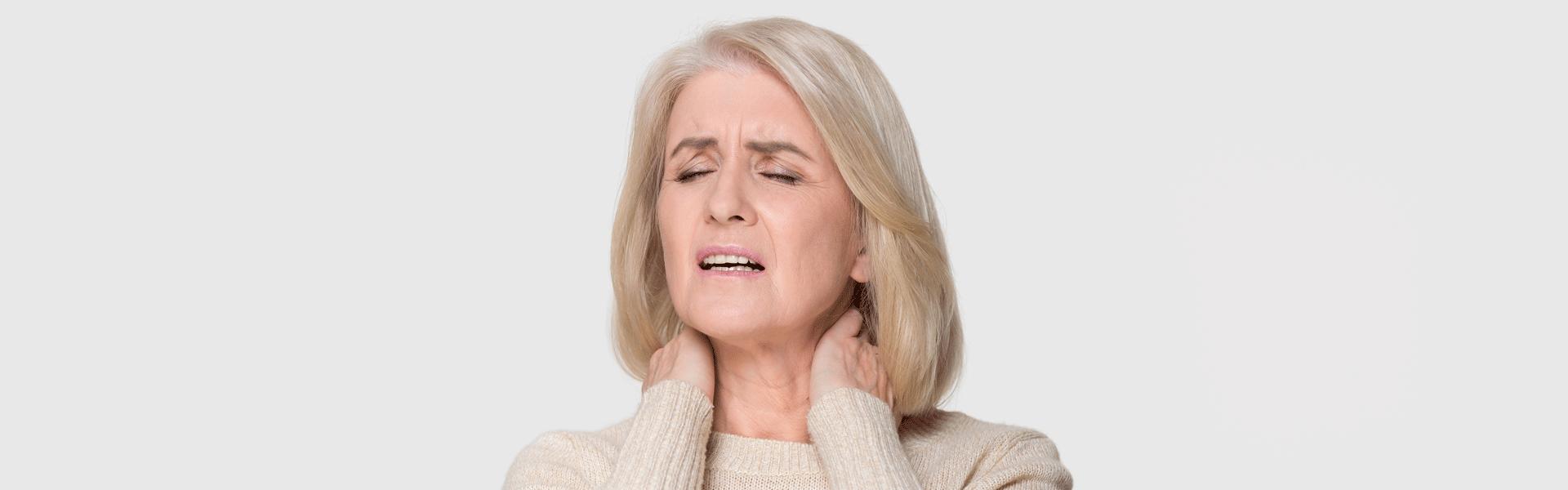 Anciano con fibromialgia