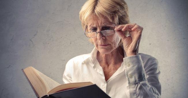 ancianos problemas de vision