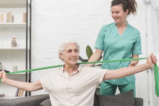 Fisioterapia adaptada: rutinas y entrenamientos