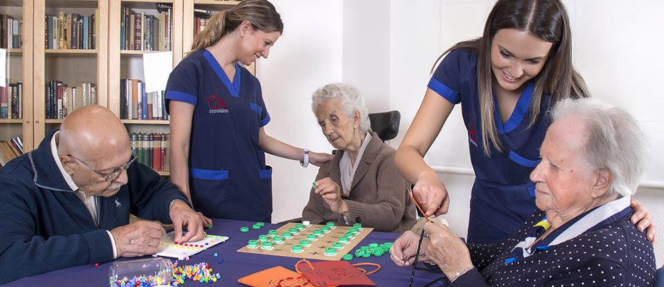 Terapia ocupacional desde casa para mayores