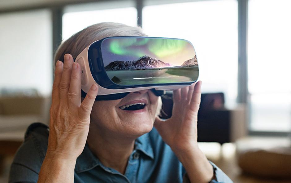 Realidad virtual en la tercera edad