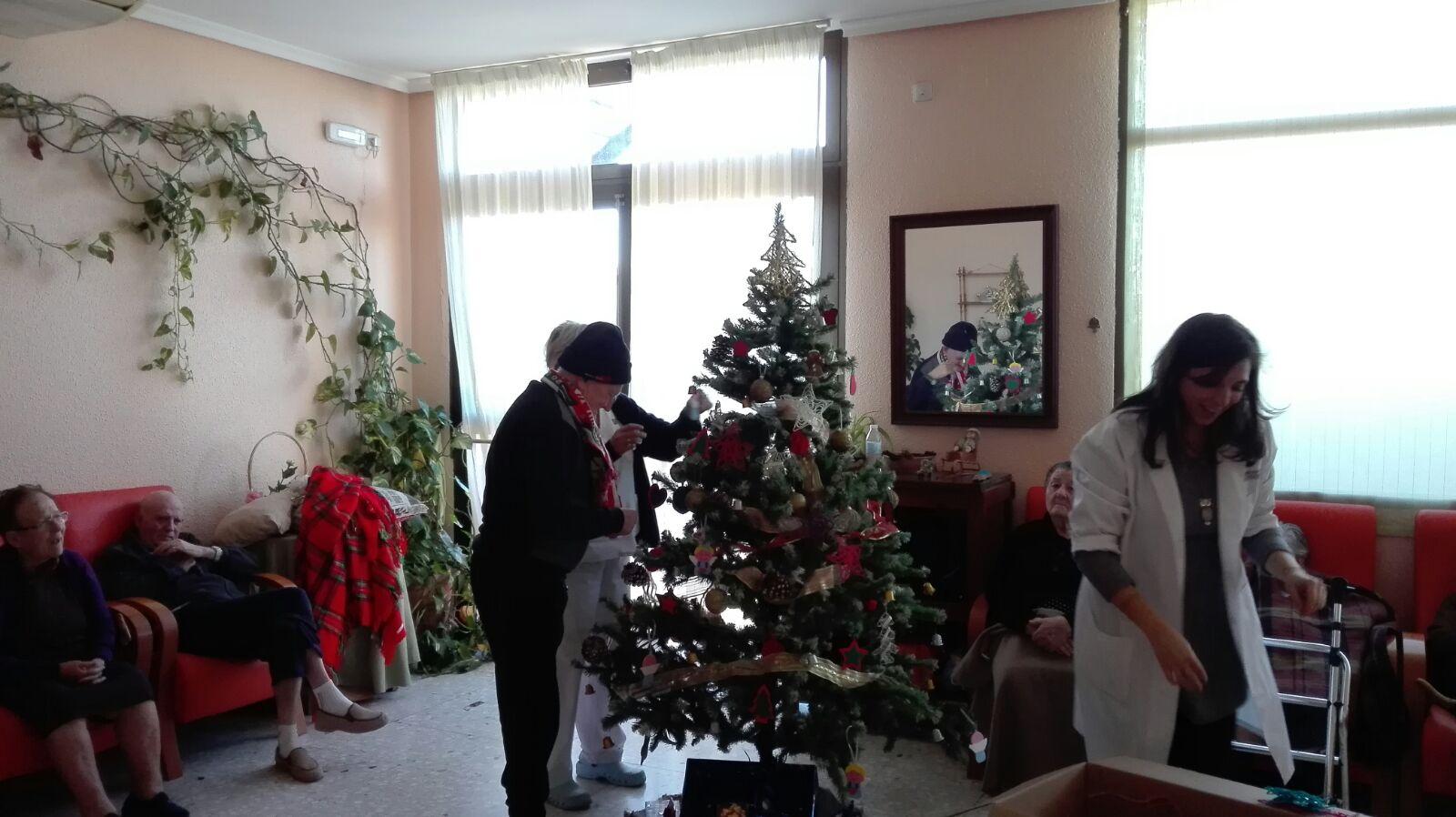 la navidad en nuestra residencia